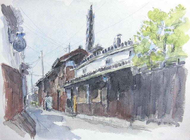 町並彩歩~伊藤 隆のスケッチ~ 近畿地方の風景(和歌山)